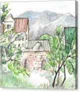 Yakornaya Schel Canvas Print