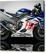 Yamaha Rossi Rep Canvas Print