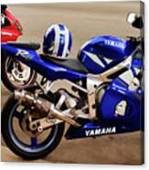Yamaha Yzf-r6 Motorcycle Canvas Print