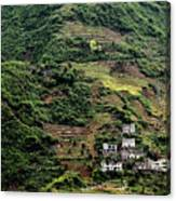 Yangtze Hillside Canvas Print