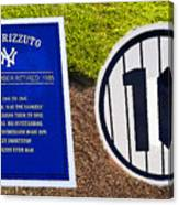 Yankee Legends Number 10 Canvas Print