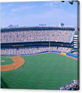Yankee Stadium Ny Yankees V. Tampa Canvas Print