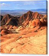 Yant Flat Candy Cliffs Panorama Canvas Print