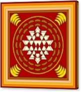 Yantra Meditation Canvas Print