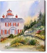 Yaquina Bay Light Canvas Print