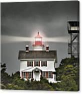 Yaquina Bay Lighthouse Canvas Print