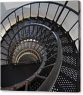 Yaquina Lighthouse Stairway Nautilus - Oregon State Coast Canvas Print