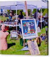 Yard Sale Day Canvas Print