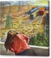 Yardwatcher Canvas Print
