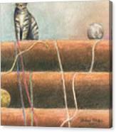 Yarn...what Yarn  Canvas Print