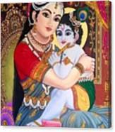 Yashoda  Krishna  Canvas Print
