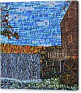 Yates Mill 3 Canvas Print
