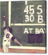 Yaz And The Green Monster Canvas Print