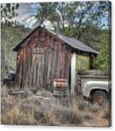 Ye Old Work Shed Canvas Print
