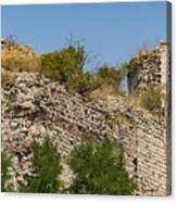 Yedikule Fortress Ruins Canvas Print