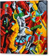 Ye'ii Bicheii Dancer Number Two Canvas Print