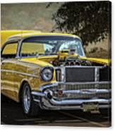 Yellow 57 Canvas Print