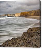Yellow Bank Cliffs Canvas Print