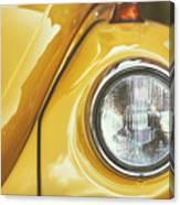 Yellow Beetle Canvas Print