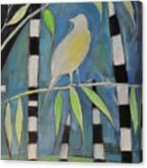 Yellow Bird Up High... Canvas Print