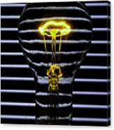 Yellow Bulb Canvas Print