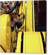 Yellow Classic Canvas Print