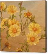 Yellow Daisies Canvas Print
