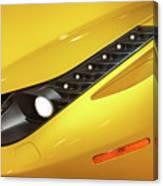 Yellow Ferrari 2013 Canvas Print