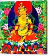 Yellow Jambhala 17 Canvas Print