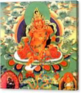 Yellow Jambhala 20 Canvas Print