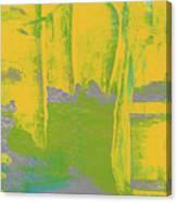 Yellow Ladders Canvas Print