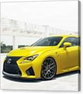 Yellow Lexus4 Canvas Print