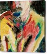 Yellow Molly Canvas Print