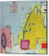 Yellow Mountain Canvas Print