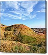 Yellow Mounds Canvas Print