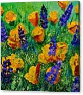 Yellow Poppies 560190 Canvas Print