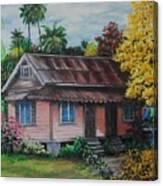 Yellow Poui Time Canvas Print