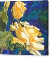 Yellow Rose After Texas Canvas Print