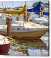 Yellow Sails Canvas Print