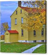 Yellow Shaker House 2 Canvas Print