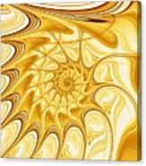 Yellow Shell Canvas Print