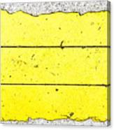 Yellow Stone Canvas Print