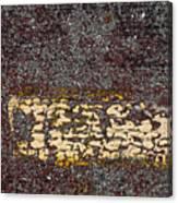 Yellow Stripe 1 Canvas Print