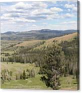 Yellowsotne Panorama Canvas Print