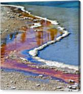 Yellowstone Abstract I Canvas Print