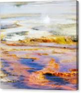 Yellowstone Abstract II Canvas Print