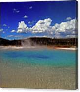 Yellowstone Blues Canvas Print