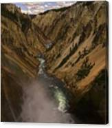 Yellowstone Grand Canyon Canvas Print