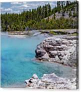 Yellowstone Grand Prismatic Spring Canvas Print