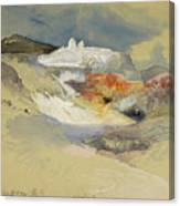 Yellowstone, Hot Springs, July 21, 1892 Canvas Print